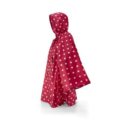 Reisenthel Mini maxi Poncho Piros Pöttyös Női Utazási kiegészítő