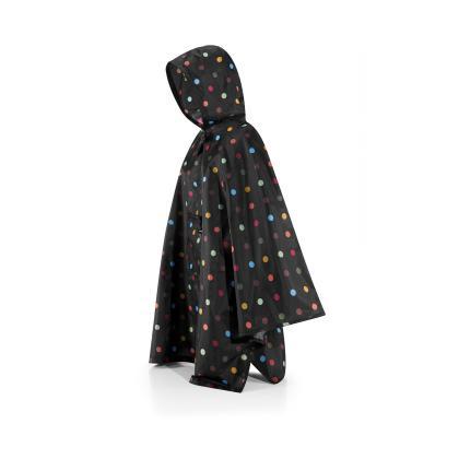 Reisenthel Mini maxi Poncho Pöttyös Fekete Női Utazási kiegészítő
