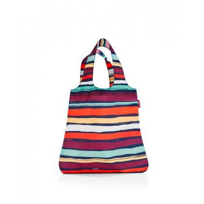 Reisenthel Mini Maxi Shopper Artist stripes Kék Csíkos Bevásárlótáska
