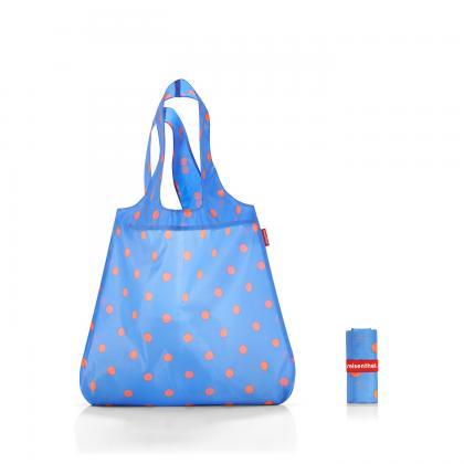 Reisenthel Mini Maxi Shopper Azure Dots Kék Bevásárlótáska