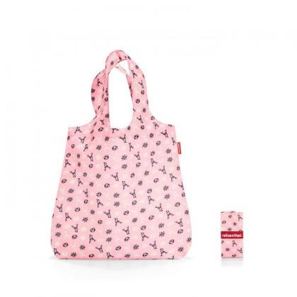 Reisenthel Mini Maxi Shopper Bavaria Rózsaszín Bevásárlótáska