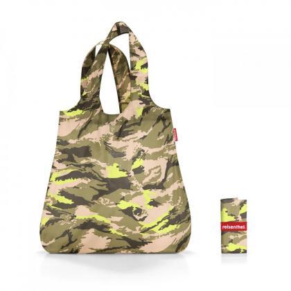 Reisenthel Mini Maxi Shopper Camouflage Zöld Bevásárlótáska