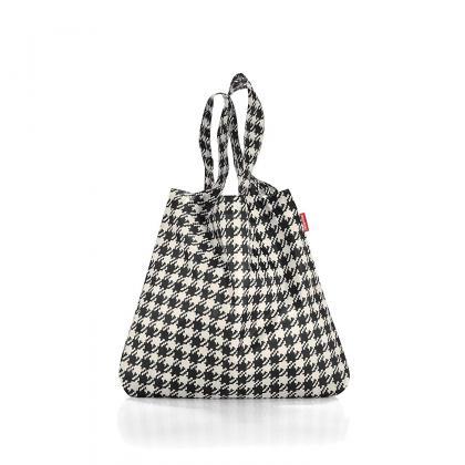 Reisenthel Mini Maxi Shopper Fifties Fekete Bevásárlótáska