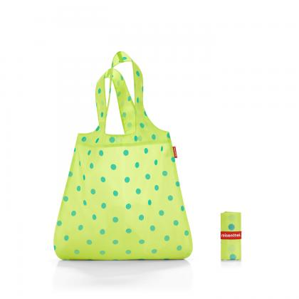 Reisenthel Mini Maxi Shopper Lemon Dots Sárga Bevásárlótáska