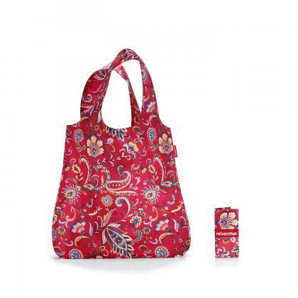 Reisenthel Mini Maxi Shopper Paisley Ruby Bordó Bevásárlótáska