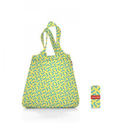 Reisenthel Mini Maxi Shopper Signature Lemon Sárga-Kék Bevásárlótáska
