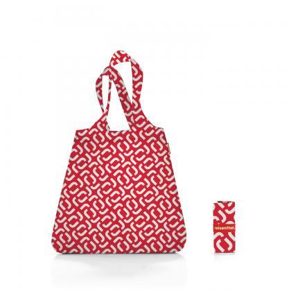 Reisenthel Mini Maxi Shopper Signature Red Piros-Fehér Bevásárlótáska