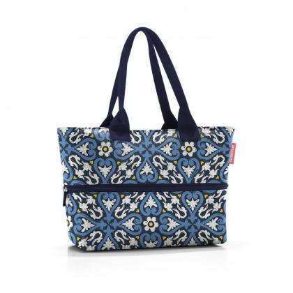 Reisenthel Shopper e1 Floral Kék Női Válltáska