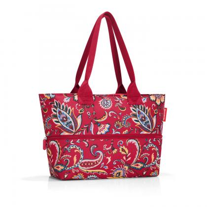 Reisenthel Shopper e1 Paisley Ruby Bordó Női Válltáska