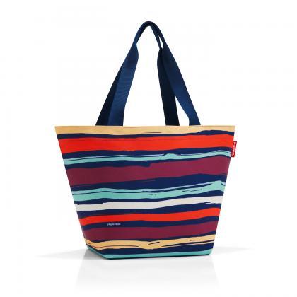 Reisenthel Shopper M Artist Stripes Sötét kék Női Bevásárlótáska