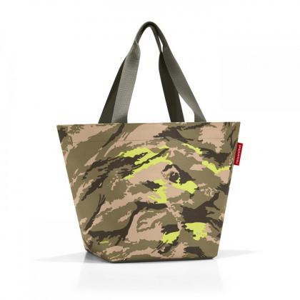 Reisenthel Shopper M Camouflage Zöld Női Válltáska