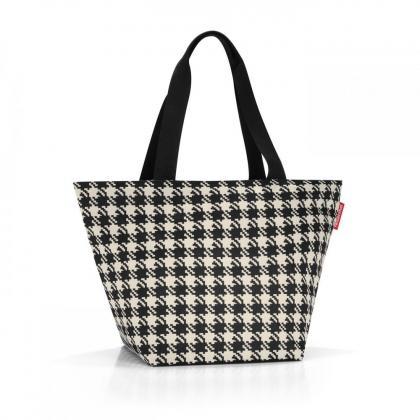 Reisenthel Shopper M Fifties Fekete-Fehér Női Bevásárlótáska