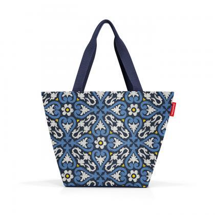Reisenthel Shopper M Floral 1 Kék Női Válltáska