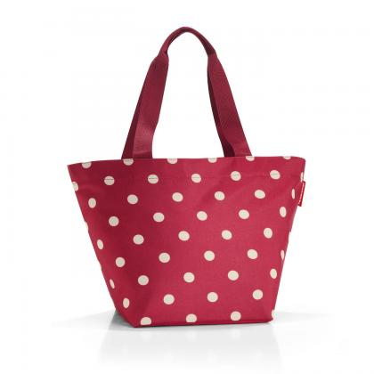 Reisenthel Shopper M Piros Pöttyös Női Bevásárlótáska