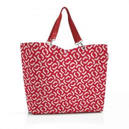Reisenthel Shopper XL Signature Red Piros-Fehér Női Válltáska