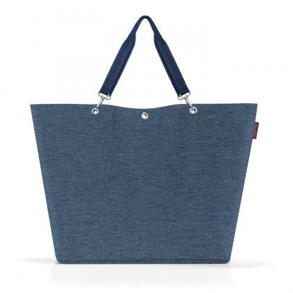 Reisenthel Shopper XL Twist Blue Farmerkék Női Válltáska