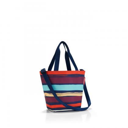Reisenthel Shopper XS Artist Stripes Sötét kék Női Bevásárlótáska