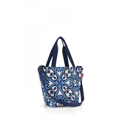 Reisenthel Shopper XS Floral 1 Kék Női Táska
