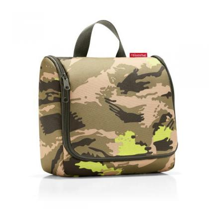 Reisenthel Toiletbag camouflage Terepmintás Női Piperetáska
