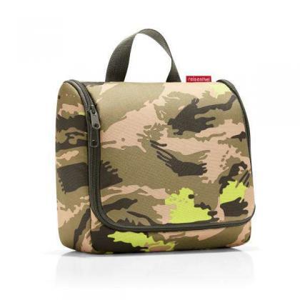 Reisenthel Toiletbag Camouflage Terepmintás Zöld Neszesszer
