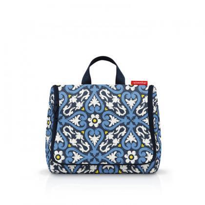 Reisenthel Toiletbag Floral 1 Kék Női Neszesszer