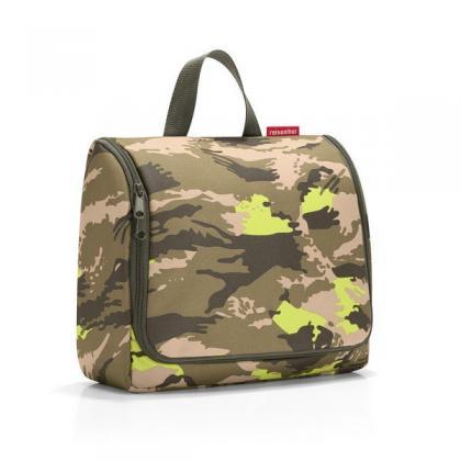 Reisenthel Toiletbag XL Camouflage Terepmintás Zöld Neszesszer