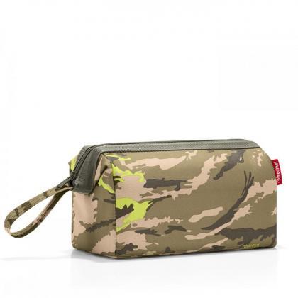 Reisenthel Travelcosmetic Camouflage Terepmintás Zöld Neszeszer