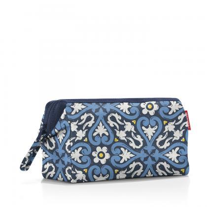 Reisenthel Travelcosmetic Floral 1 Kék Női Neszesszer
