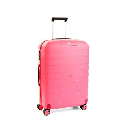 Roncato Box 2.0 M Rózsaszín Keményfedeles bőrönd