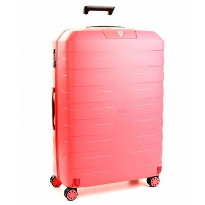 Roncato Box L Rózsaszín Unisex Keményfedeles bőrönd