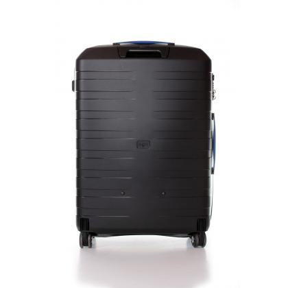 Roncato Box M Fekete-Kék Unisex Keményfedeles bőrönd