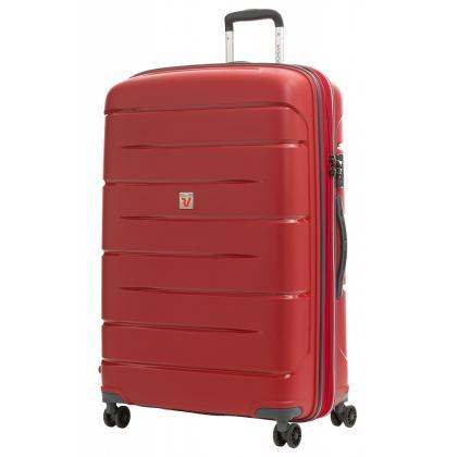 Roncato Flight DLX Bővíthető Piros L Keményfedeles bőrönd