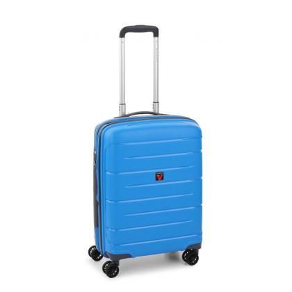 Roncato Flight DLX Bővíthető Világoskék Kabinbőrönd
