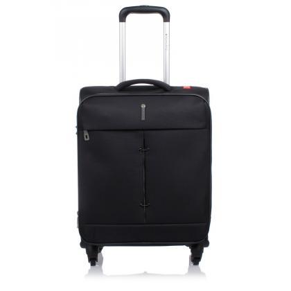 Roncato Ironik 4 kerék Fekete Unisex Kabinbőrönd