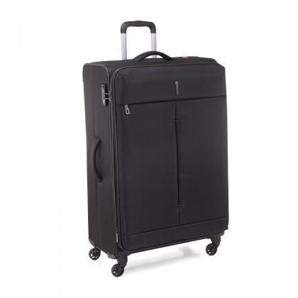 Roncato Ironik 4 kerék Fekete Unisex Puhafedeles bőrönd