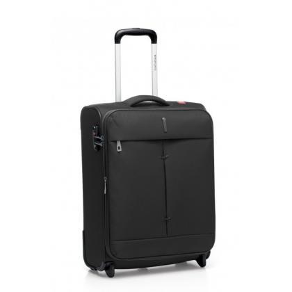 Roncato Ironik Fekete 2 Kerekes Bővíthető Kabinbőrönd