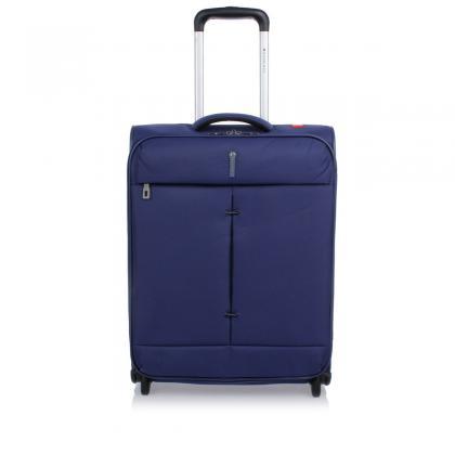 Roncato Ironik Kék Unisex Kabinbőrönd