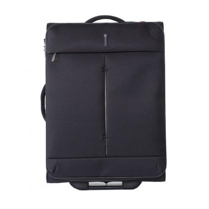 Roncato Ironik L Fekete Unisex Bőrönd