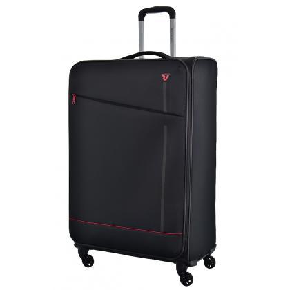 Roncato Jazz 4 kerék L Fekete Bőrönd