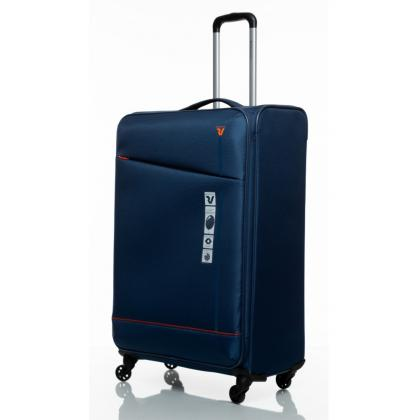 Roncato Jazz 4 kerék L Kék Bőrönd