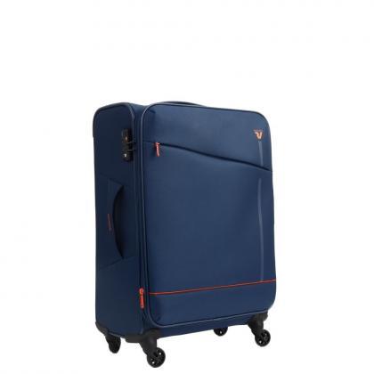 Roncato Jazz 4 kerék M Kék Bőrönd