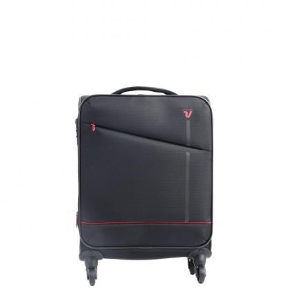 Roncato Jazz 4 kerék S Fekete Kabinbőrönd