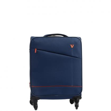 Roncato Jazz 4 kerék S Kék Kabinbőrönd