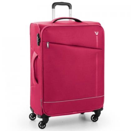 Roncato Jazz 4 Kerekű Bővíthető Pink Nagy Bőrönd