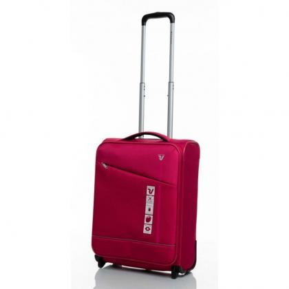 Roncato Jazz 2 Kerekű Bővíthető Pink Kabinbőrönd