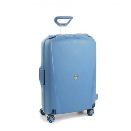 Roncato Light Farmerkék Nagy Bőrönd