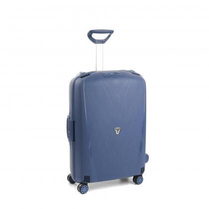 Roncato Light Kék Közepes Bőrönd