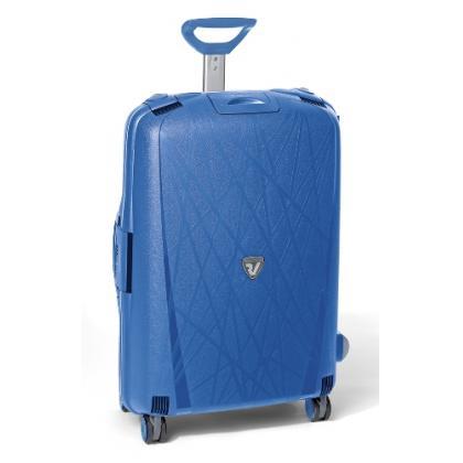 Roncato Light M Kék Unisex Keményfedeles bőrönd