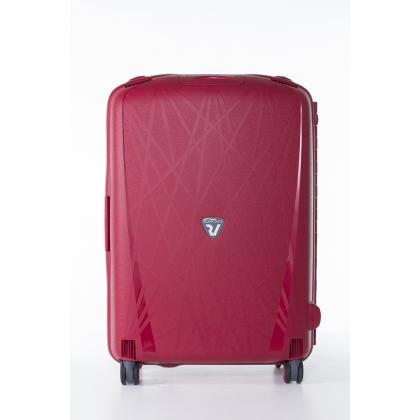 Roncato Light M Piros Unisex Keményfedeles bőrönd
