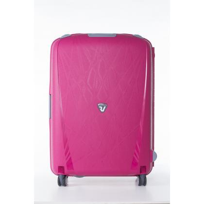 Roncato Light Rózsaszín Közepes Bőrönd